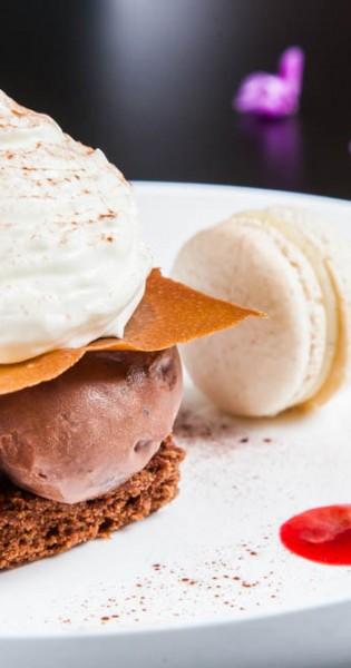 Photo culinaire Besançon Dessert variation autour du chocolat